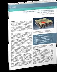 Ground Subsidence rock & soil modelling