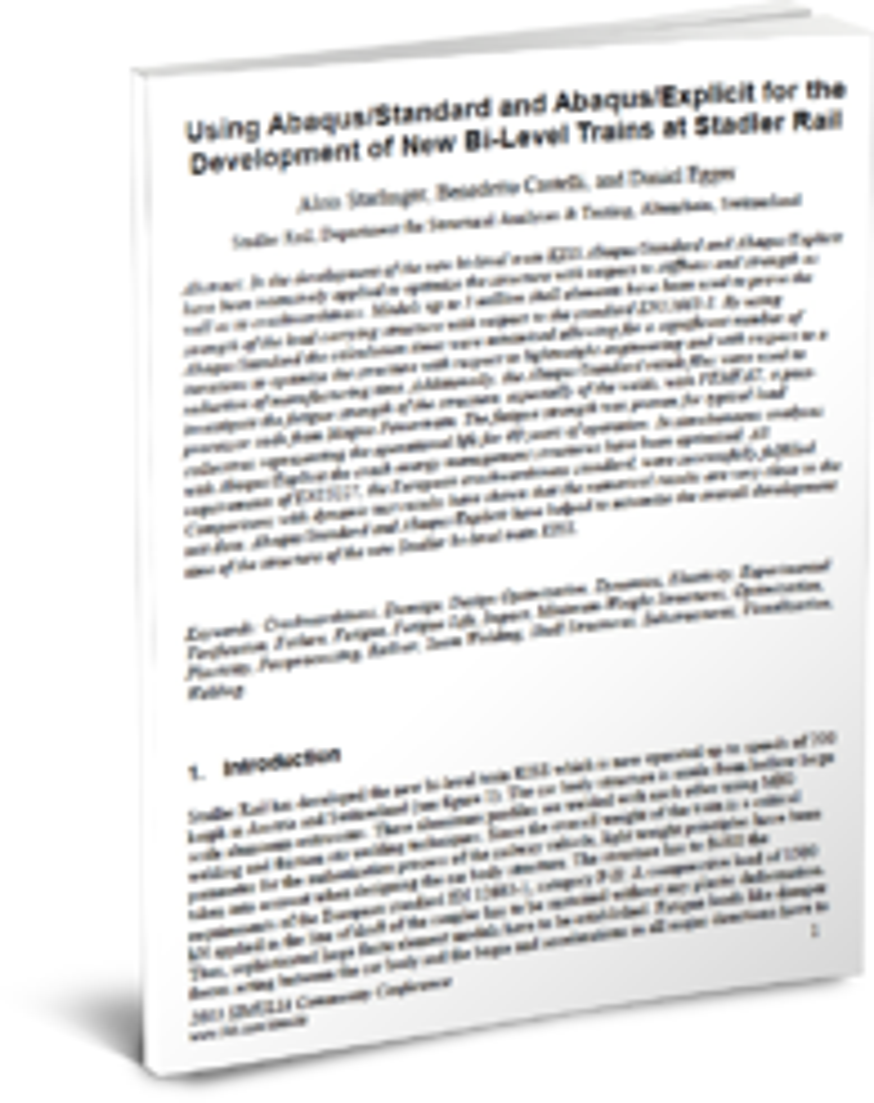 Stadler Train BodyTwist transport & mobility resources