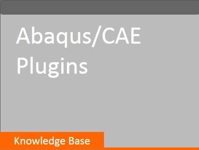 Abaqus CAE Plugins SSA knowledge base