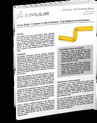 Spot Weld Crush Tube impact & crash analysis