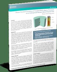 Nuclear Waste Disposal rock & soil modelling