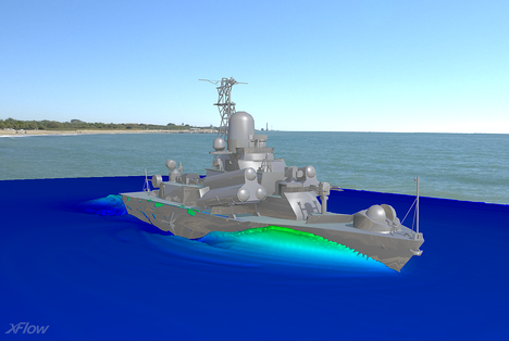 XFlow CFD Marine